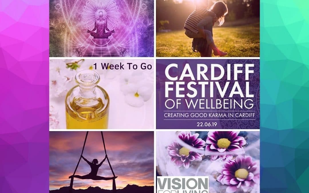 We're at the Cardiff Festival of Wellbeing