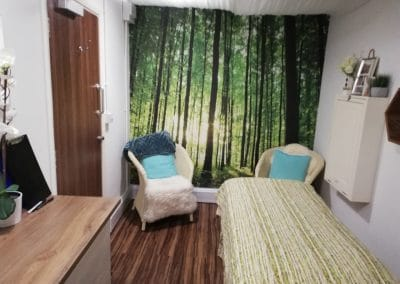 Treatment-Room-Forest-Wall-End