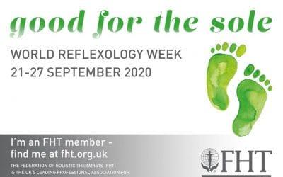 Celebrating World Reflexology Week